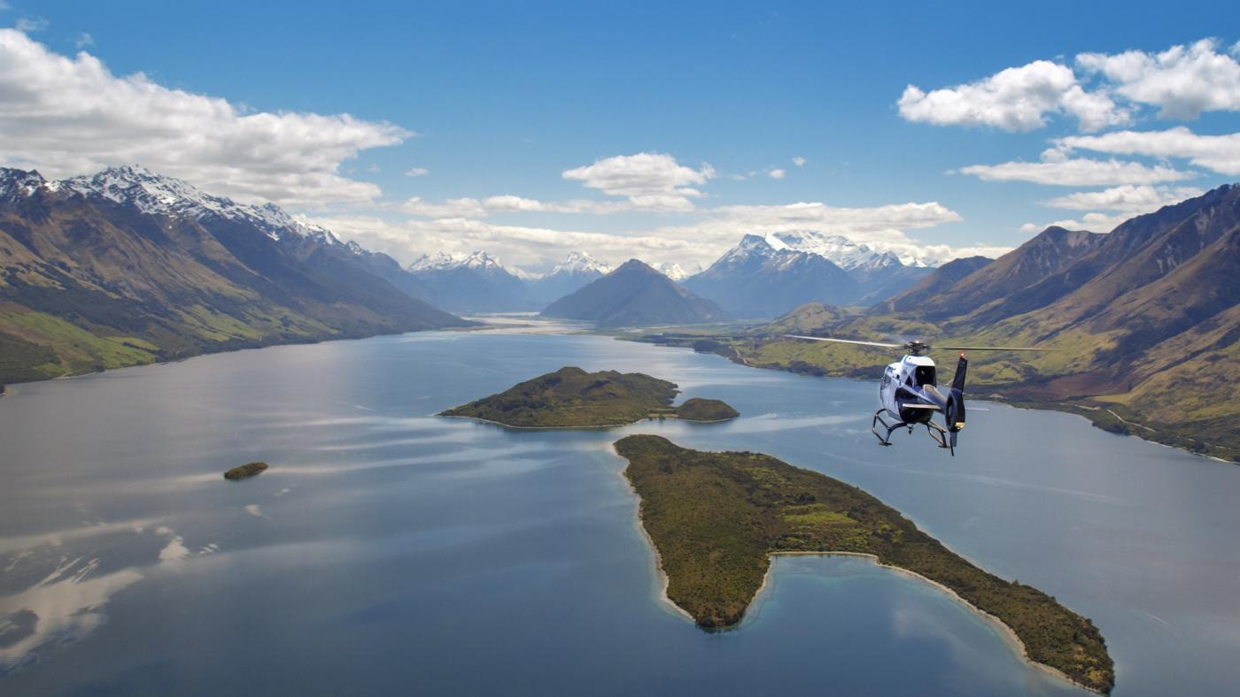 Heli Glenorchy Scenic helicopter flight