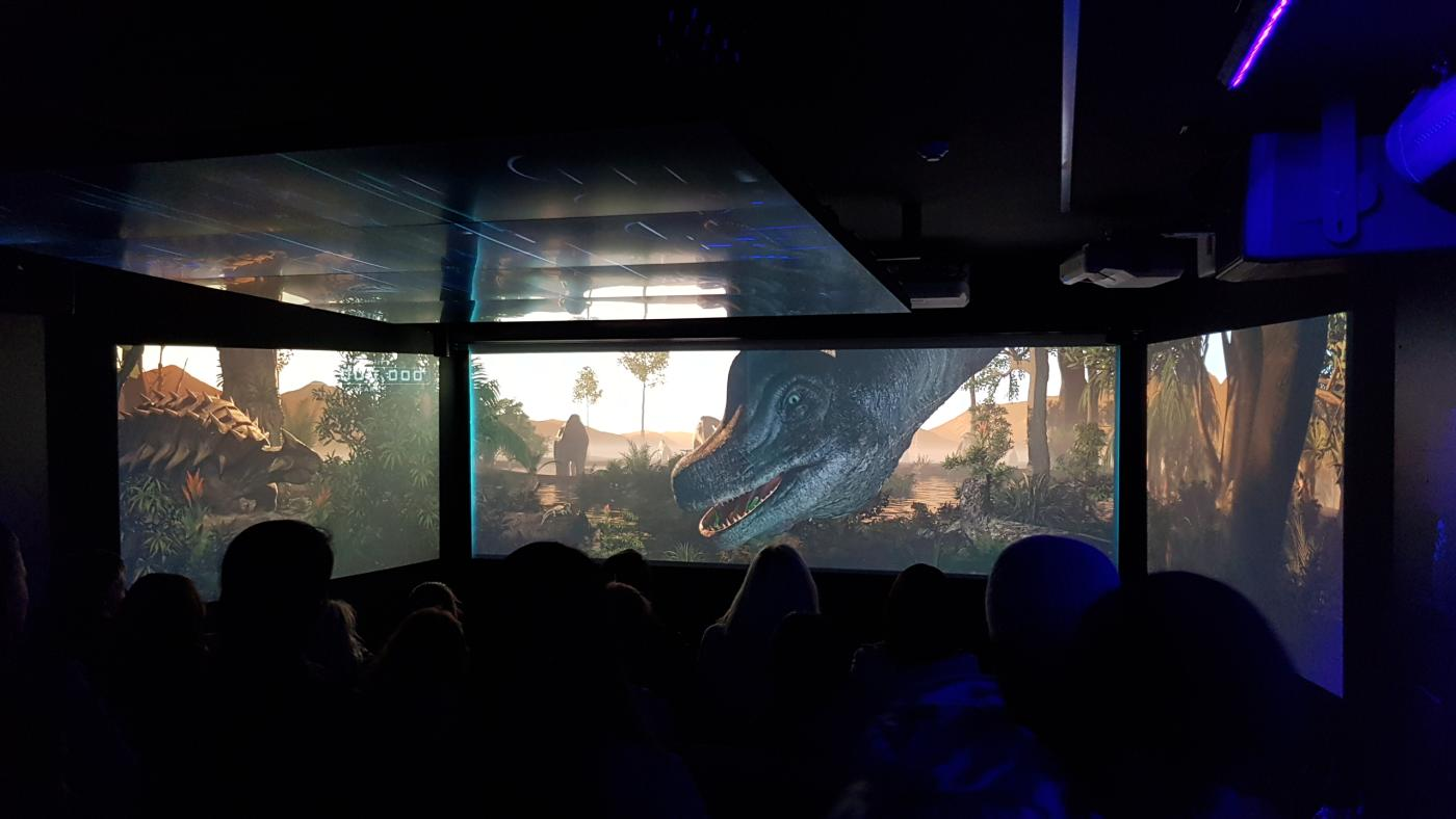 KJet Time Tripper underwater movie theatre