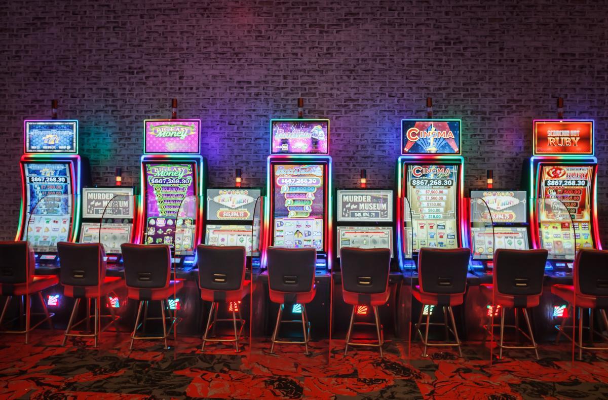 5 gaming machines at Rosie's Gaming Emporium in Dumfries