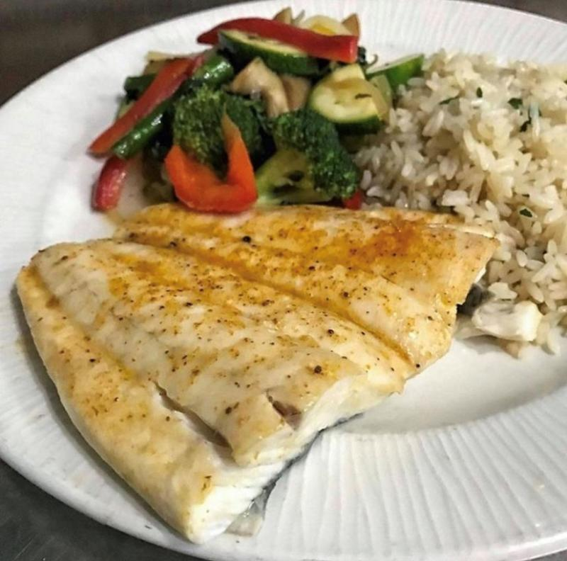 Waterman's Surfside Grill offers up a fresh fish-of-the-day menu option in Virginia Beach.