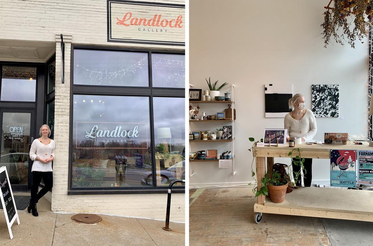 Landlock Gallery in Omaha, Nebraska