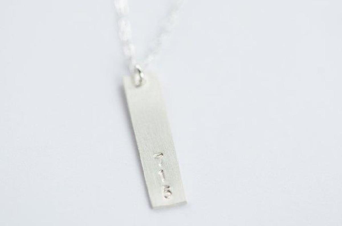 Assembly Shop - 715 Silver necklace