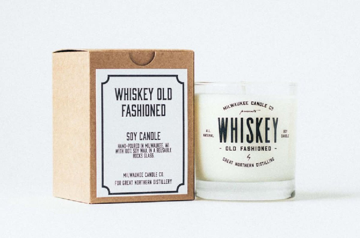 Great Northern Distilling - Whiskey Old Fashioned Candle