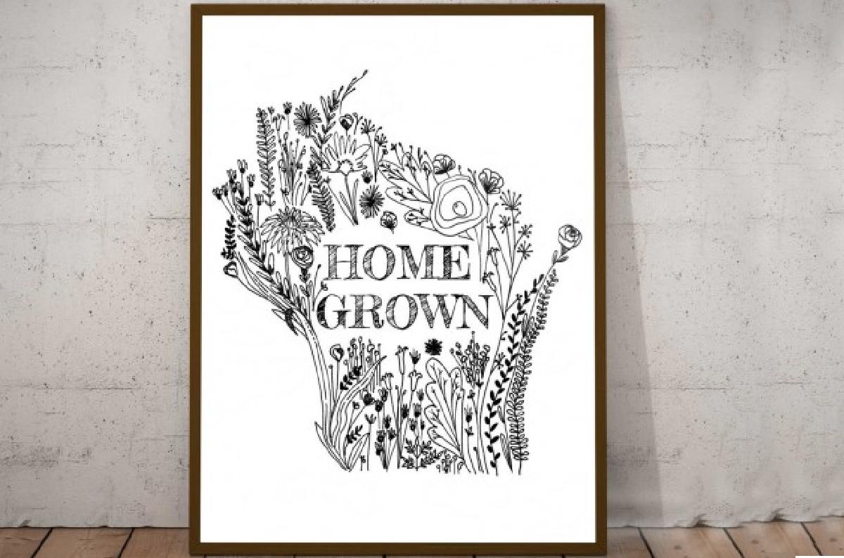 Home Grown Print by Crystal Dawn - AGORA