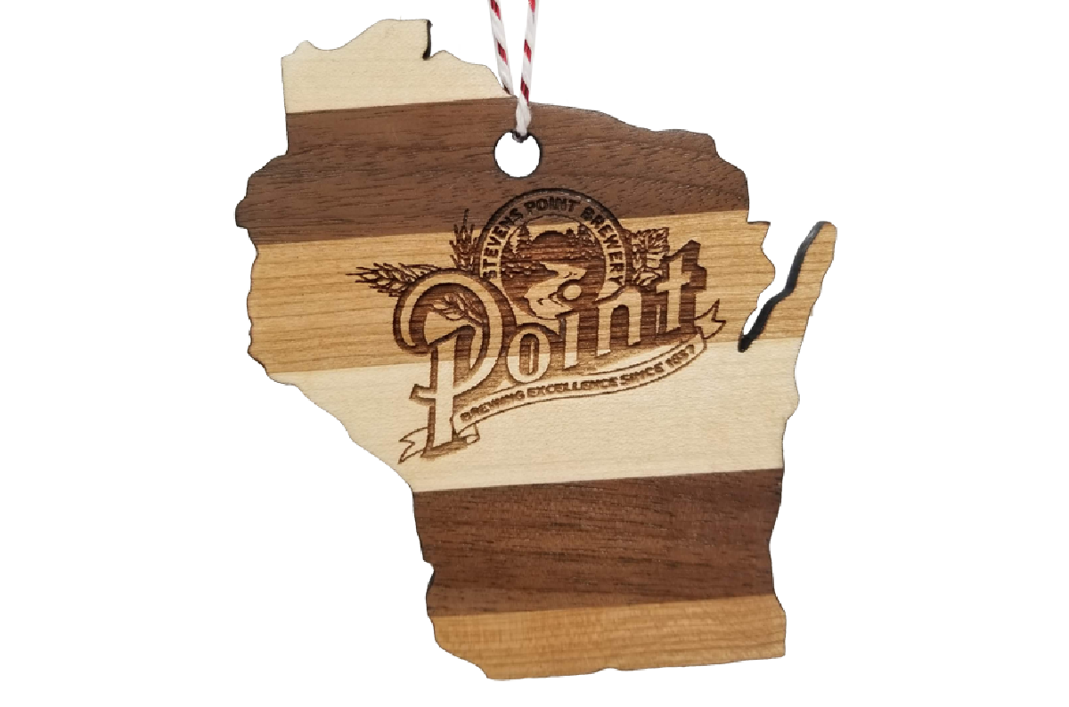 Stevens Point Brewery - Wisconsin Ornament