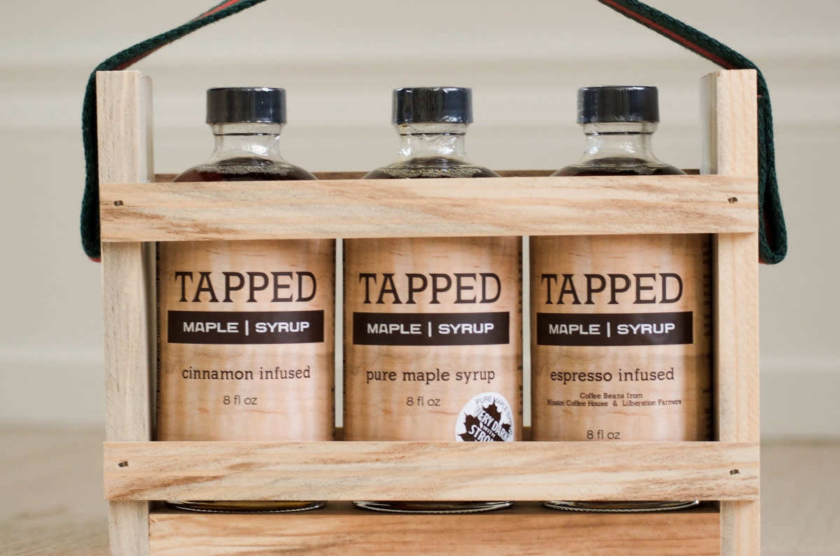 Half-Pint Gift Crate | Tapped Maple Syrup