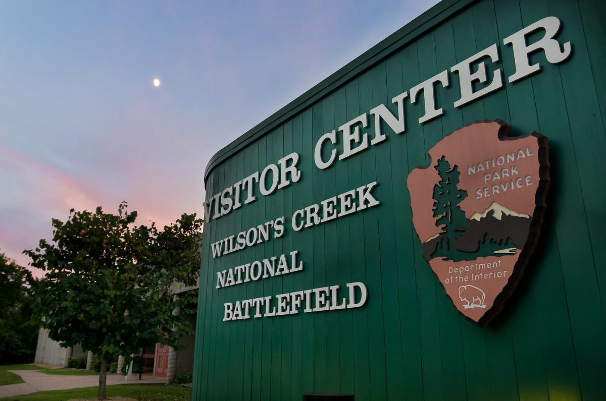 Wilson's Creek National Battlefield sign