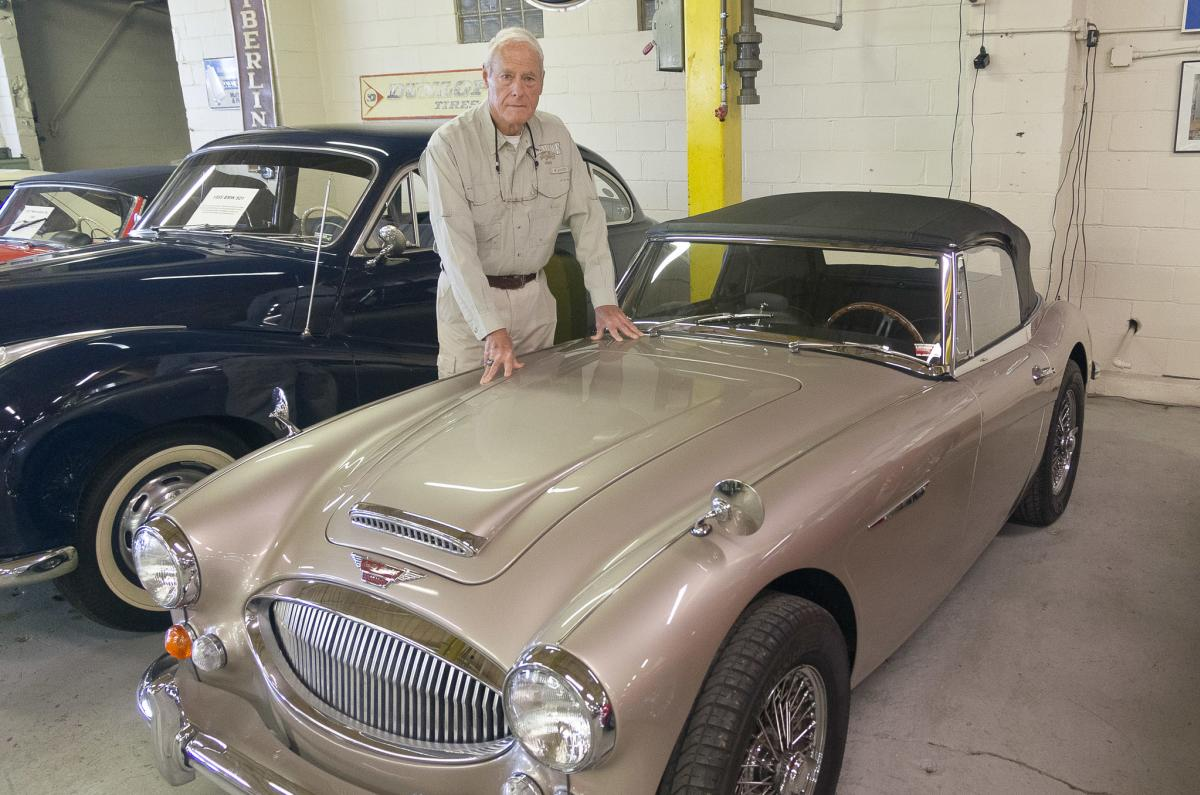 Guy Mace, owner of the Route 66 Car Museum