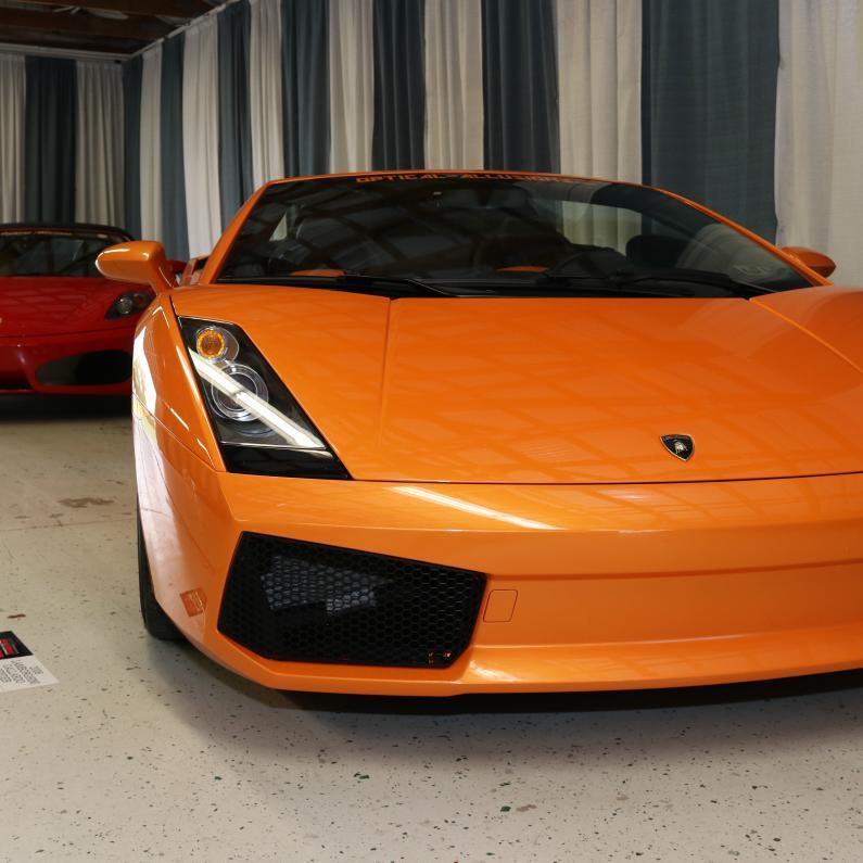 Lamborghinin and Ferrari