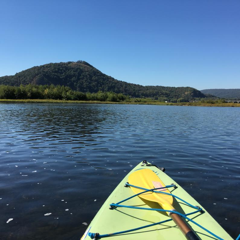 Kayaking on the Susquehanna River