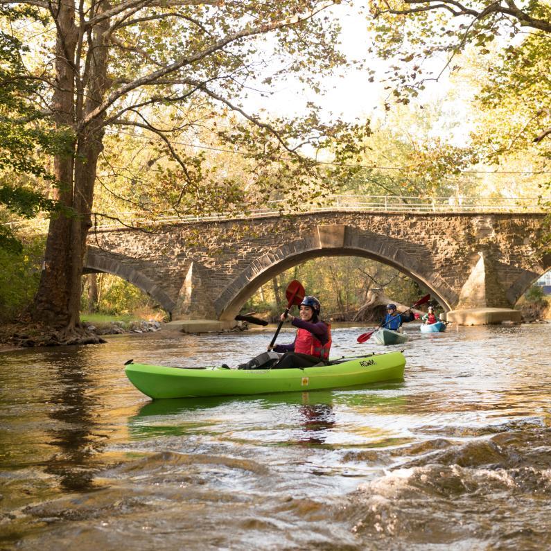 Kayaking on Yellow Breeches Creek