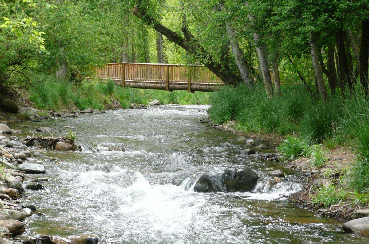 The Río Bonito at Along the River RV Park