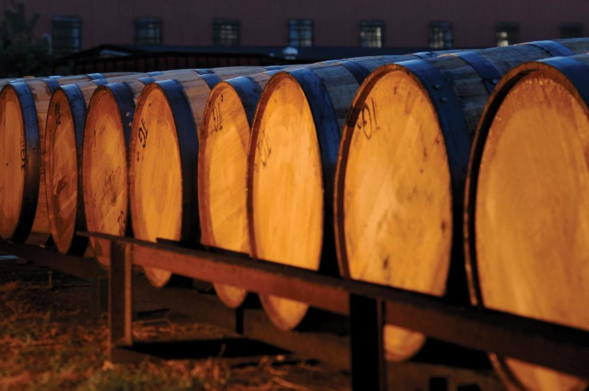 White Oak Bourbon Barrels
