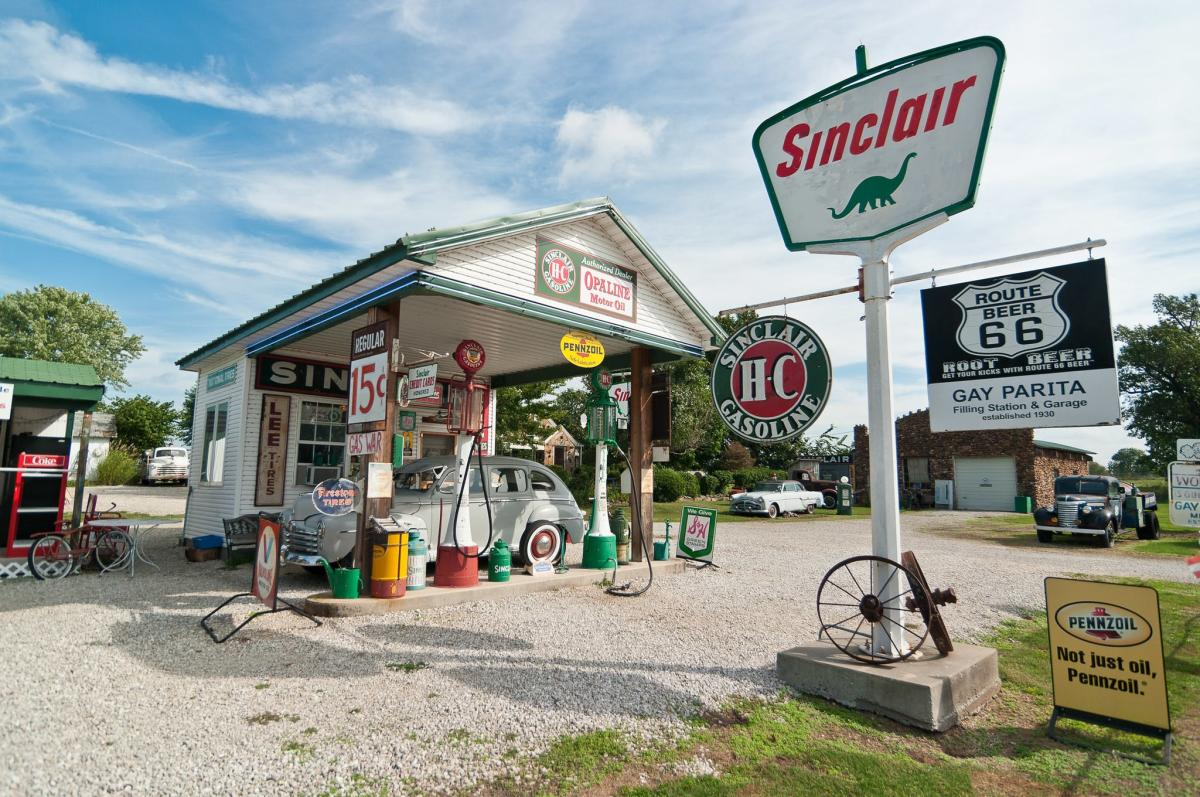 Sinclair on Route 66