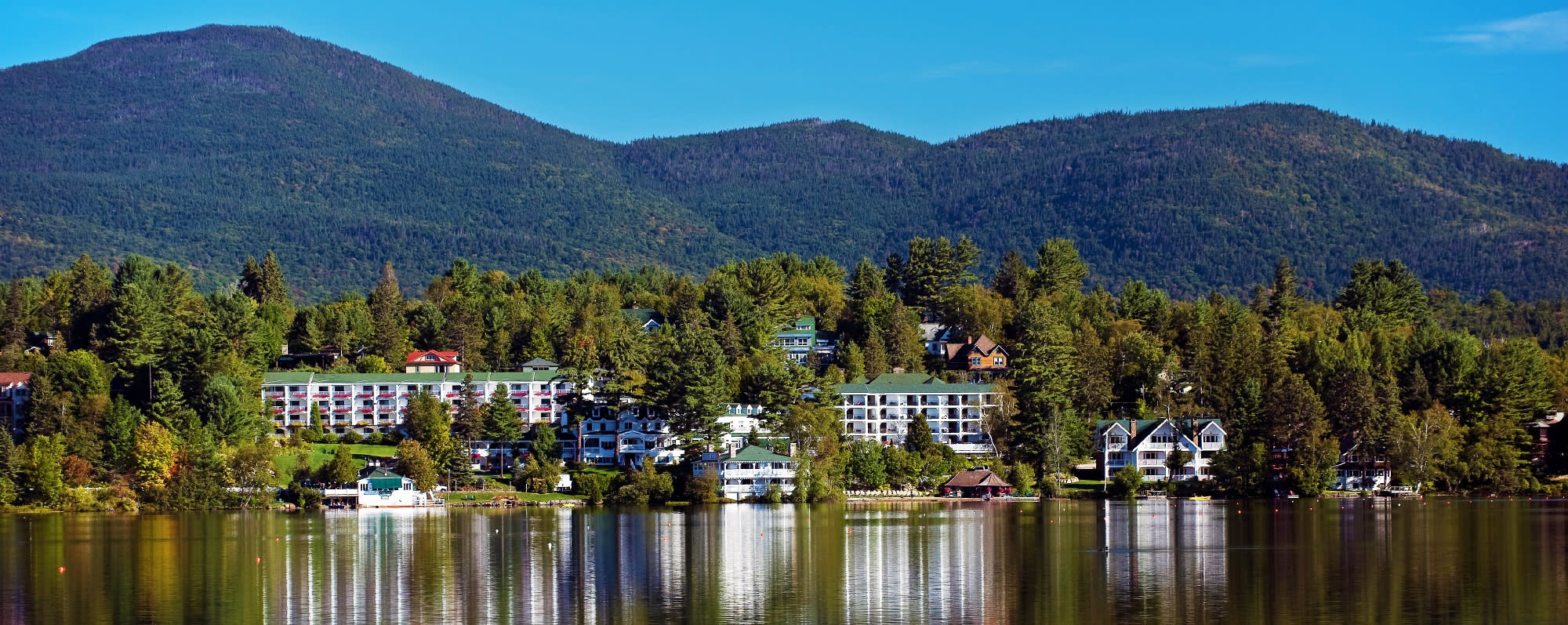 Mirror Lake Inn, Lake Placid - Photo by NYS ESD