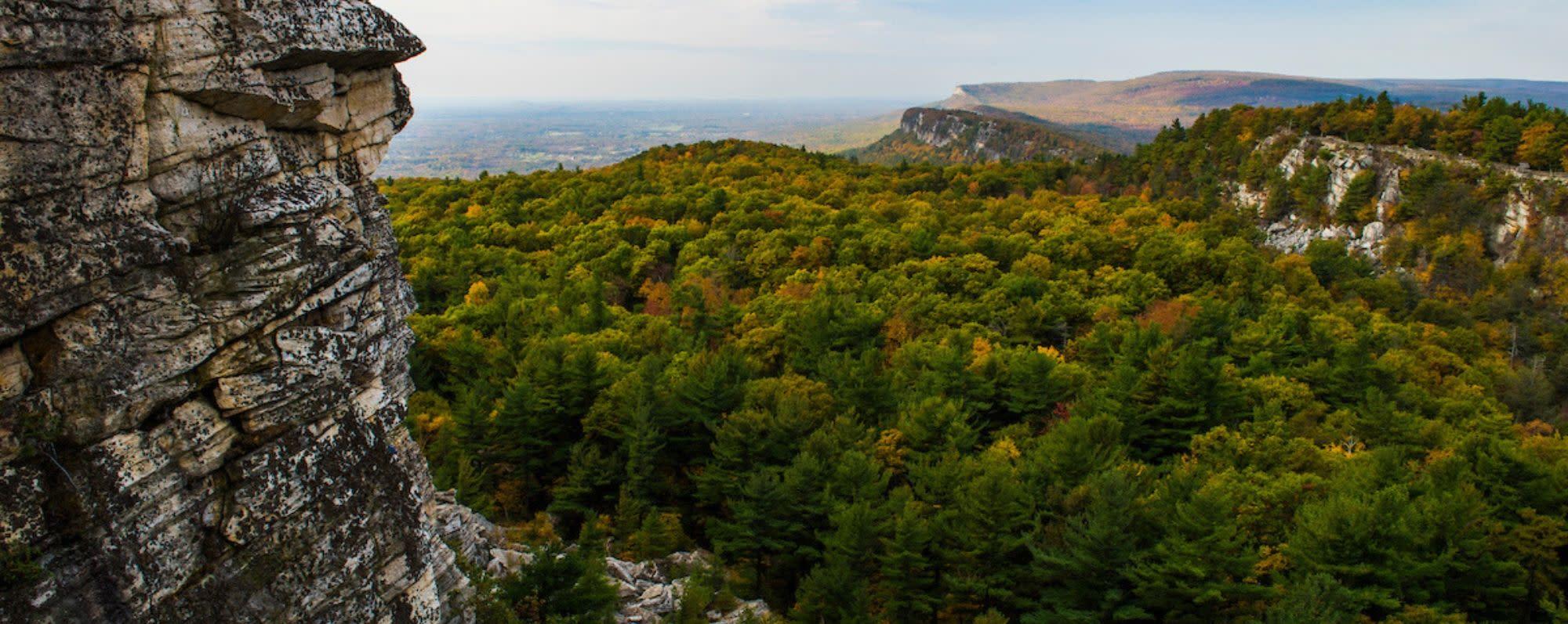 Shawangunk Ridge Escarpment - Fall