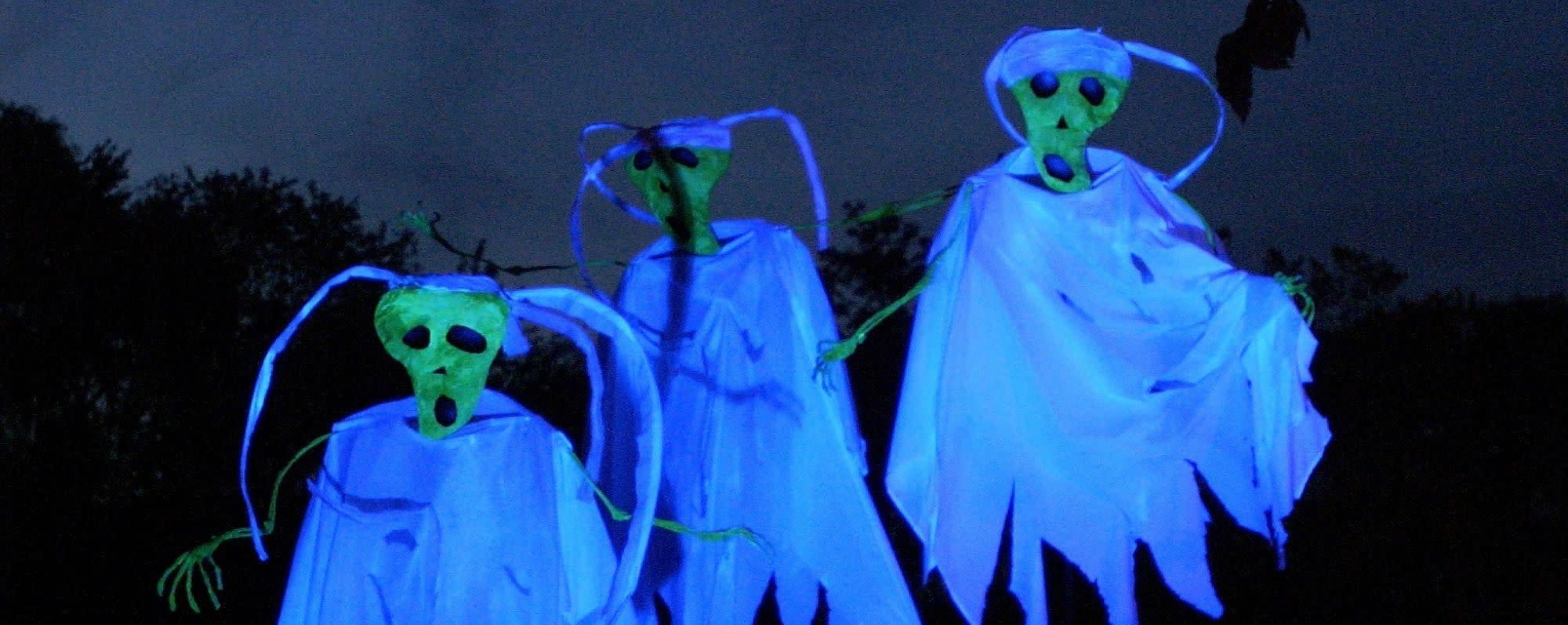 Ghost-like figures