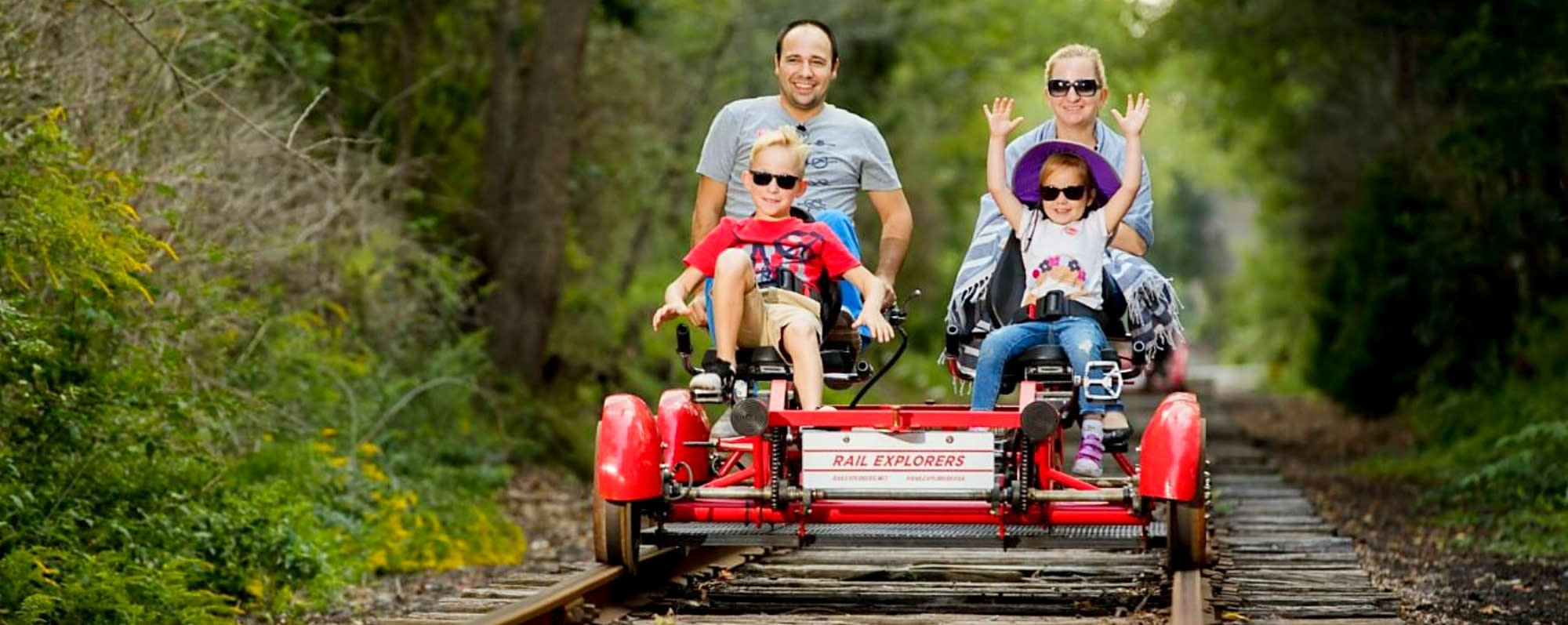 Rail Explorers in Catskills