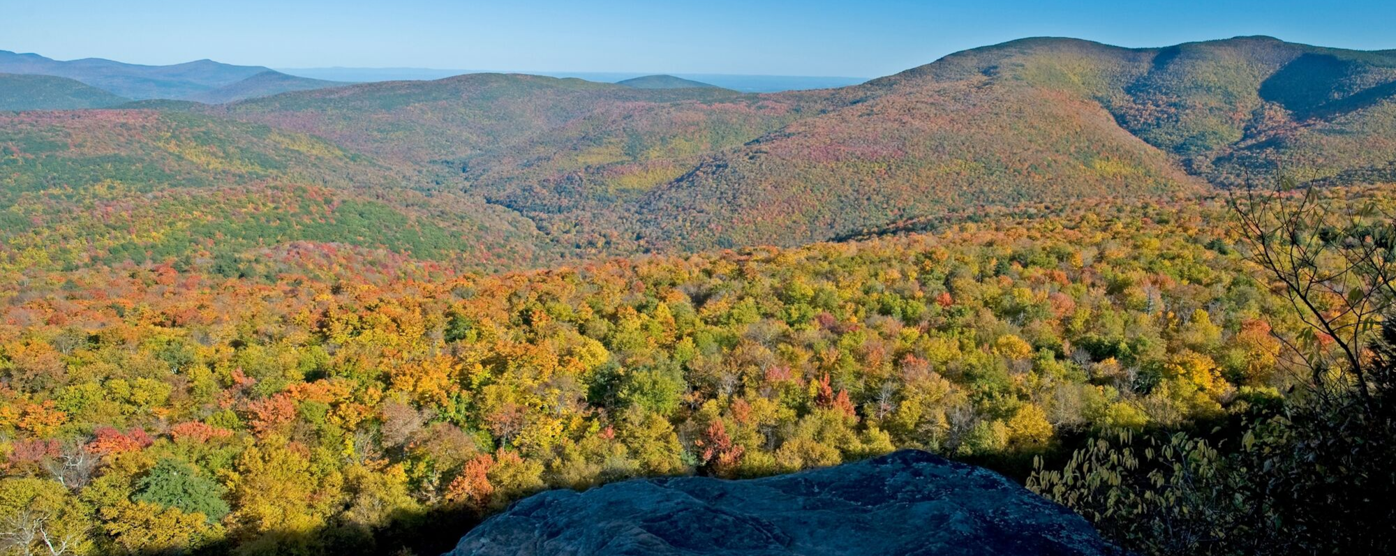 View from Giant Ledge, Catskills