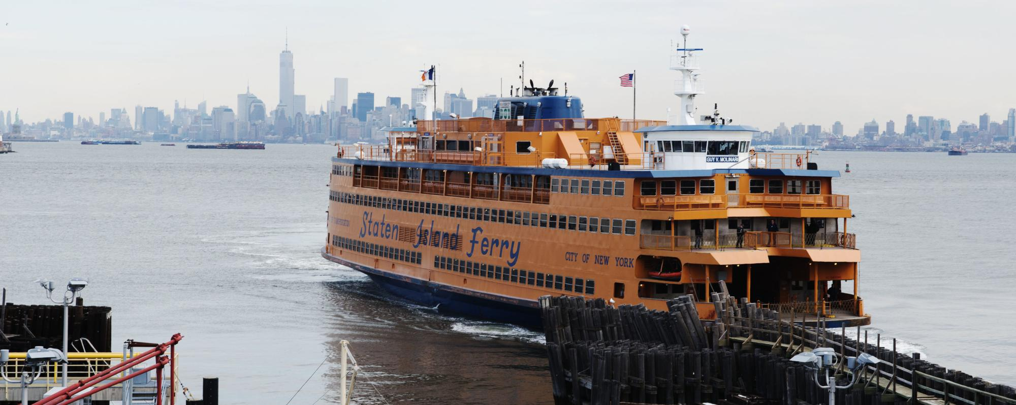 Staten Island Ferry - Photo by Julienne Schaer - Courtesy of NYC & Co