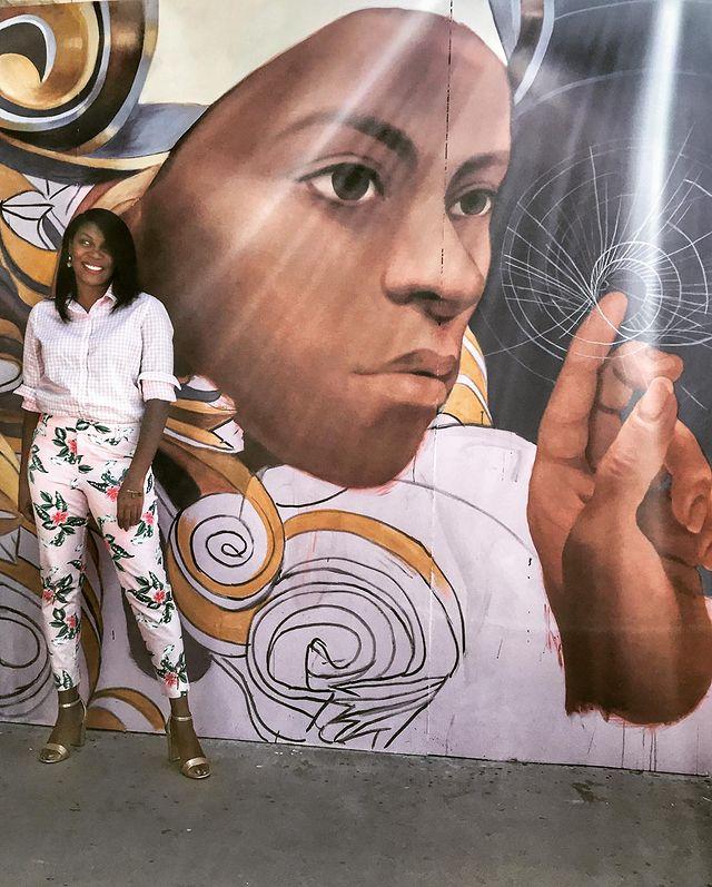 Mural at Fresno State