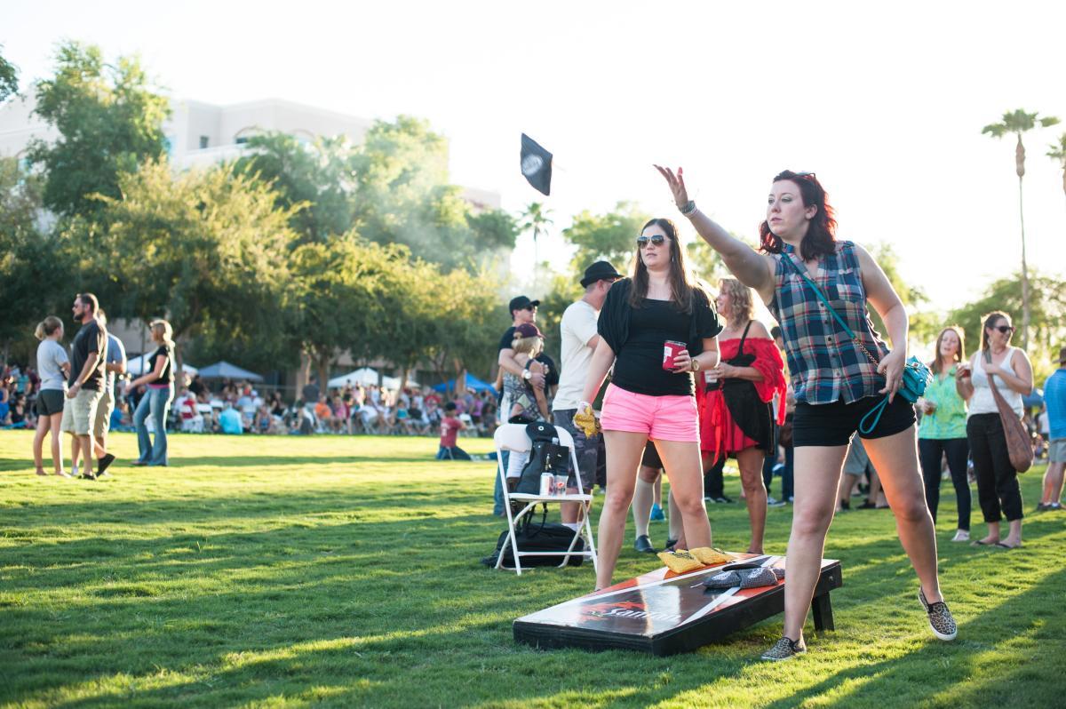 SanTan Oktoberfest - lawn games