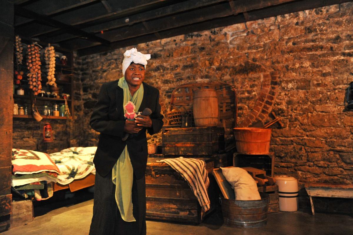 "Experiential Tour ""Sophia's Secret"" tells of life on the Underground Railroad at the Kelton House"