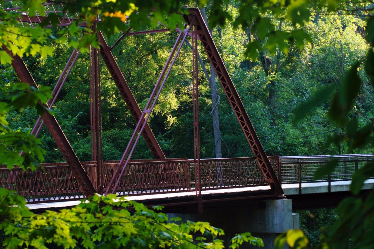 Bridge at McCloud Nature Park