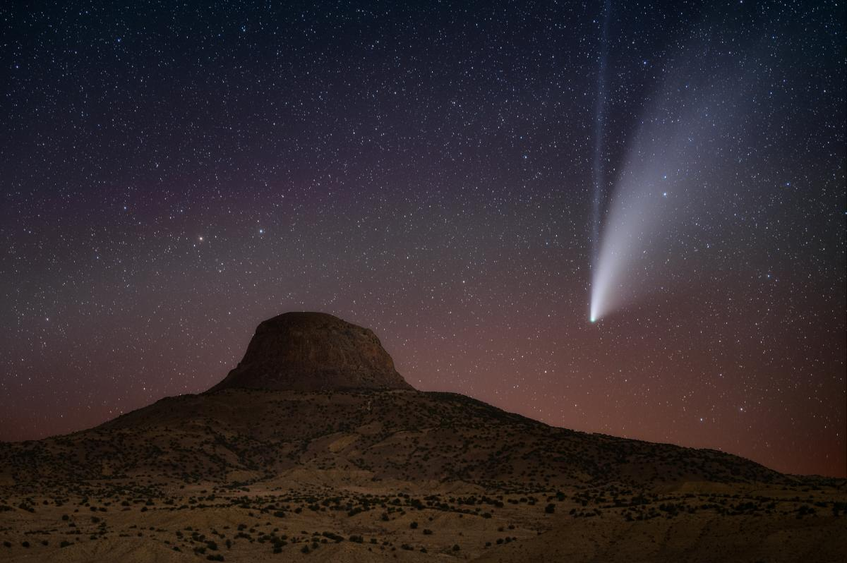 Neowise, Photograph by Paul Schmit, New Mexico Magazine