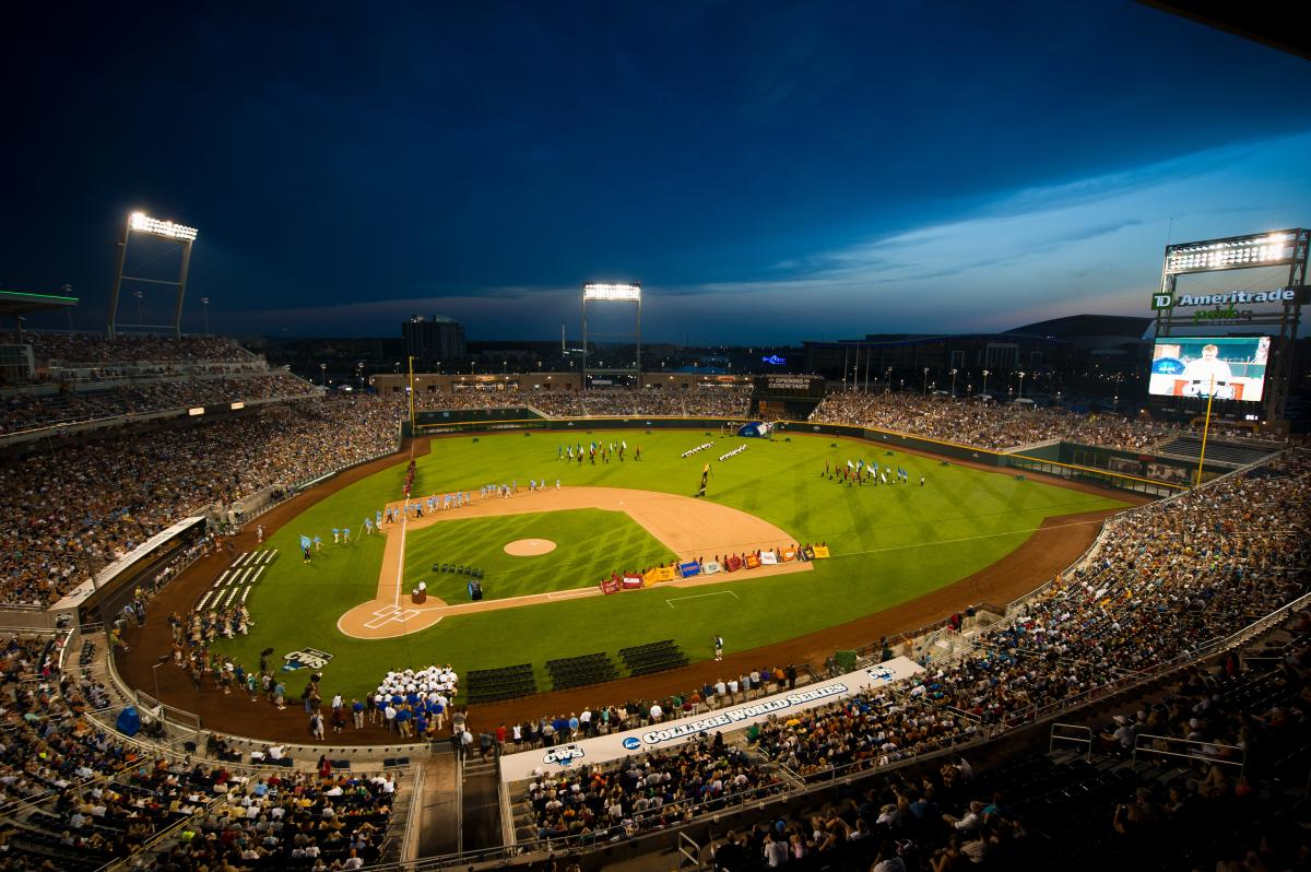 College World Series in Omaha