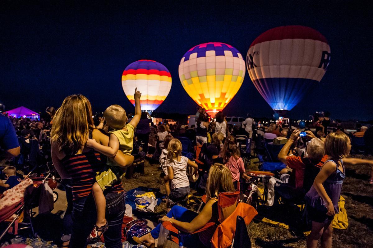 Omaha Balloon and Wine Festival