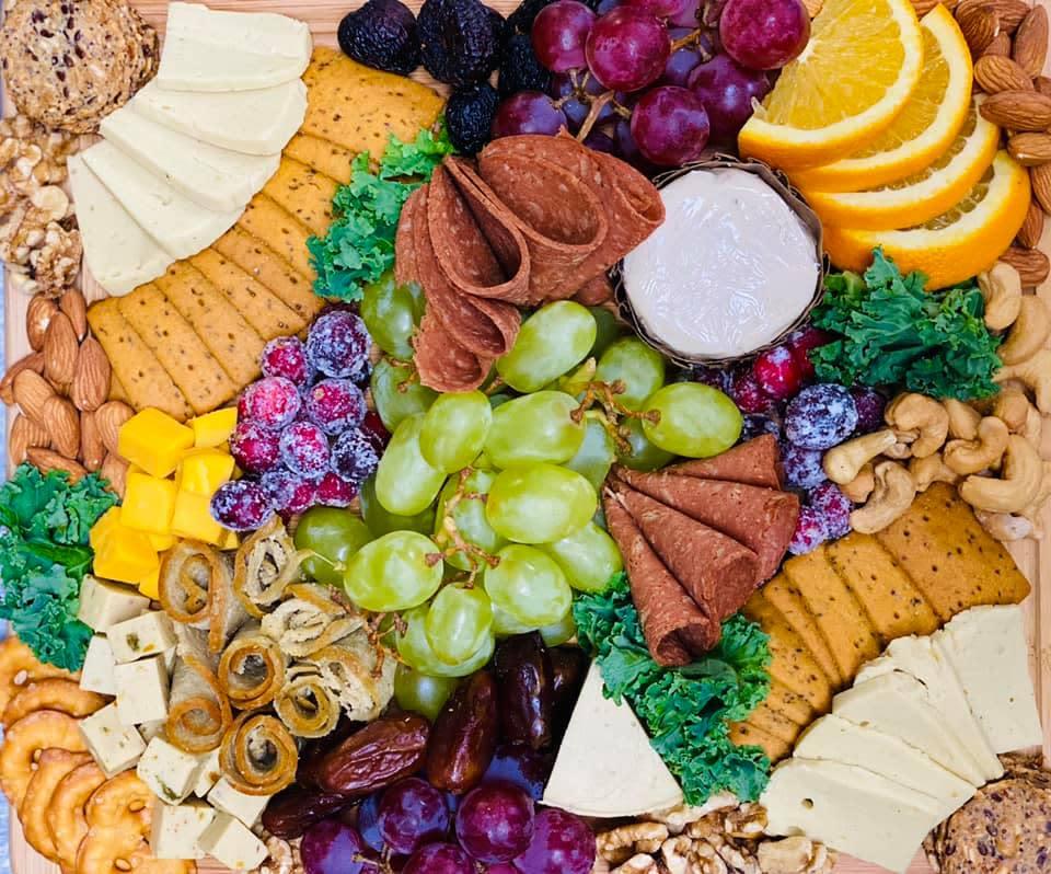 Earth's Harvest Charcuterie Board