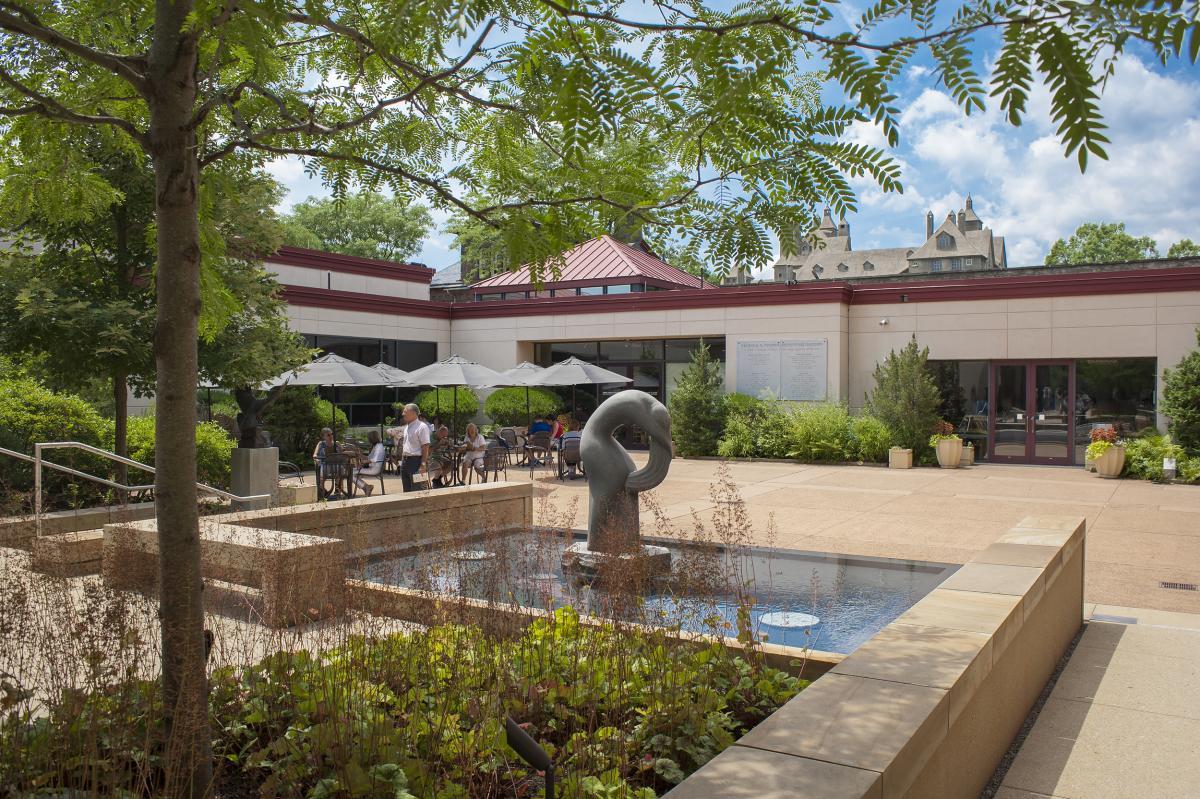 Michener Art Museum Sculpture Garden and Cafe