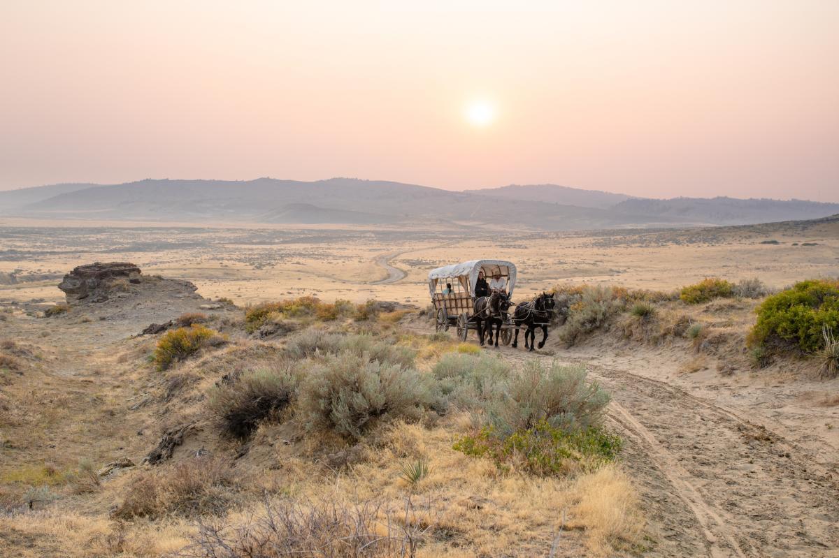 Wagon Train Trails, Wyoming