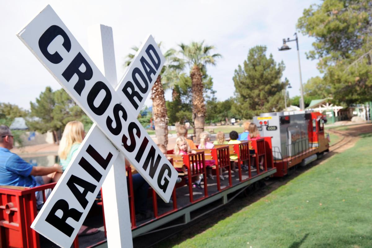 Desert Breeze Railroad at Desert Breeze Park