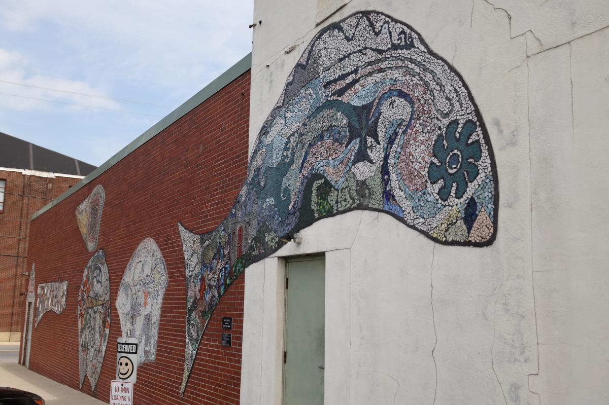 BananaWORKS (Mosaic Mural)
