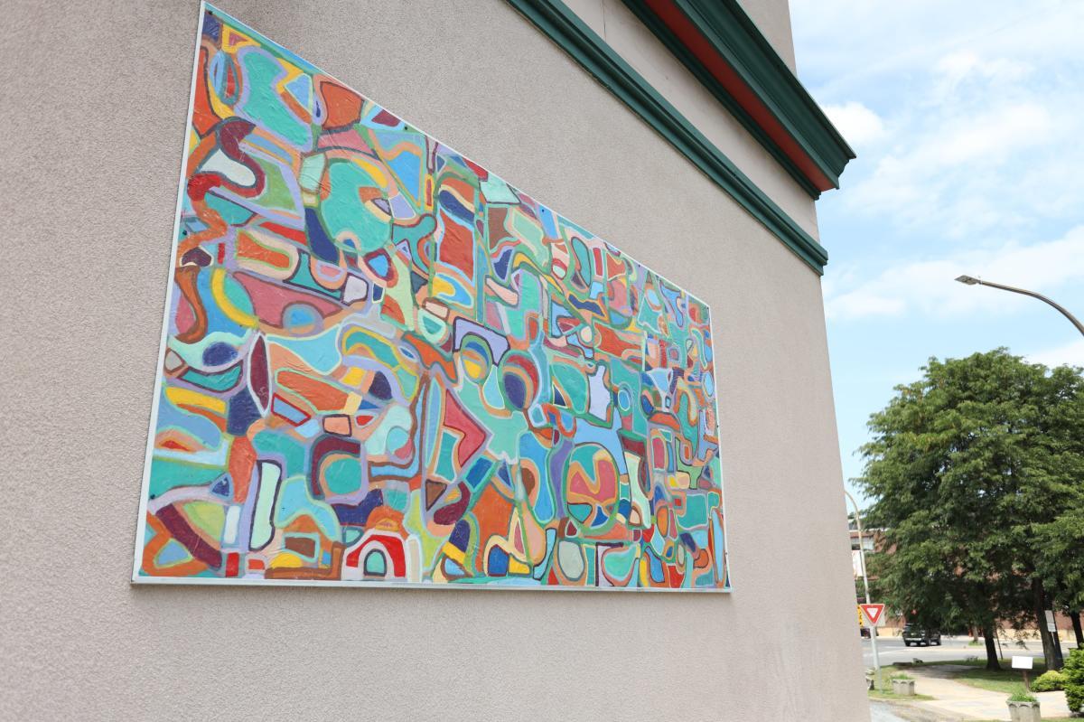 Vibrant Asymmetry (Mural)