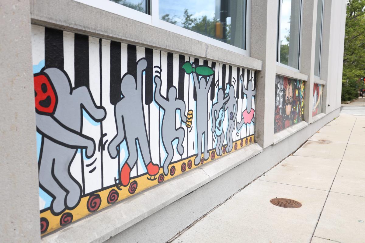 Lehigh Valley Charter High School for the Arts Student Murals (Murals)