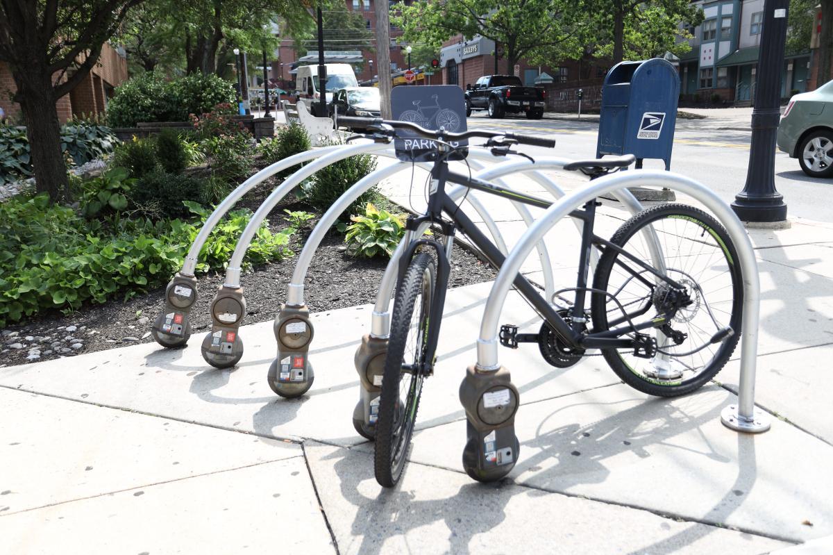 Sustainable Meter Rack (Bike Rack)