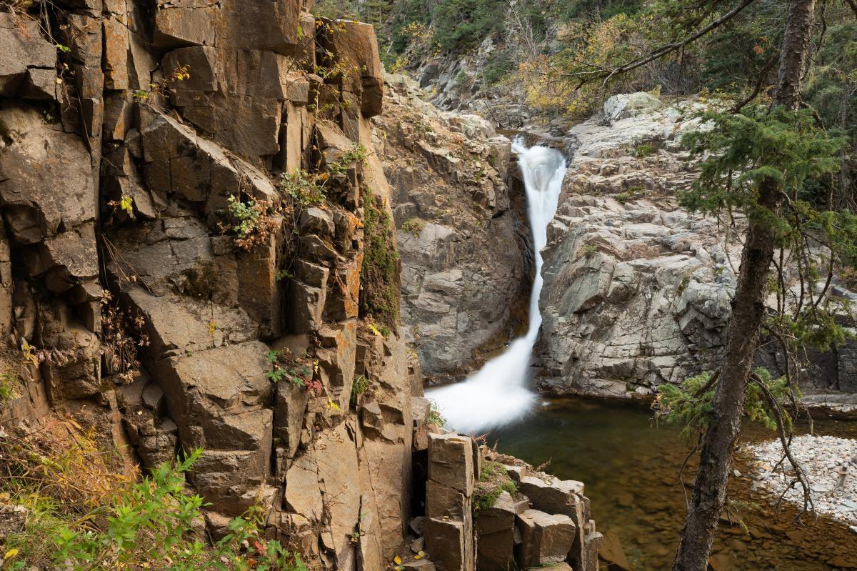 Little Niagara Falls, La Plata Canyon, Durango, CO
