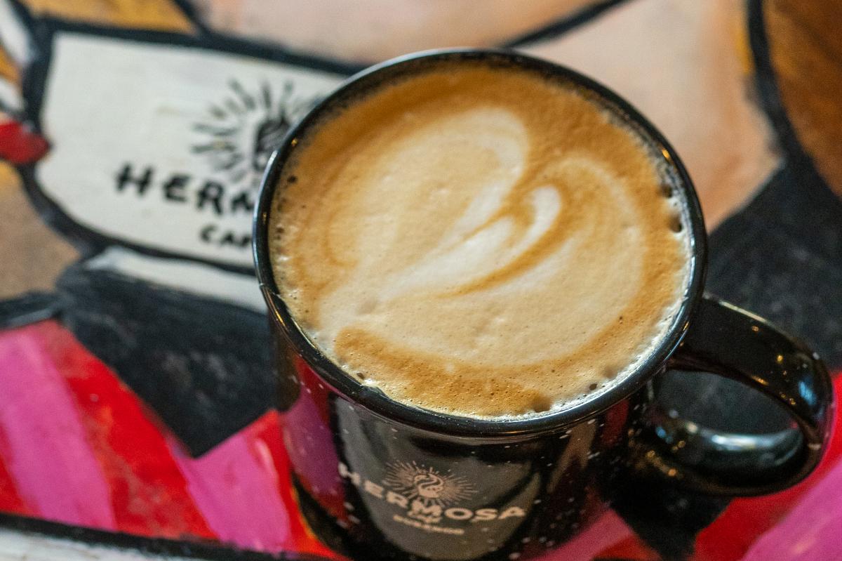 Coffee Cup Mug at Hermosa Cafe