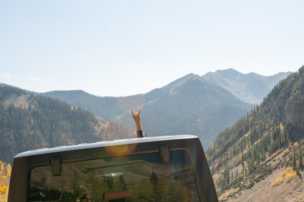 Jeeping in La Plata Canyon, Durango, CO