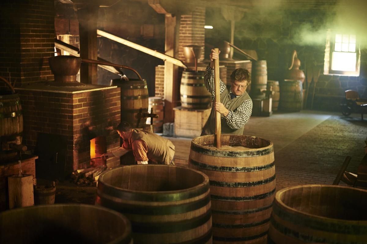 George Washington's Distillery & Gristmill - Mount Vernon