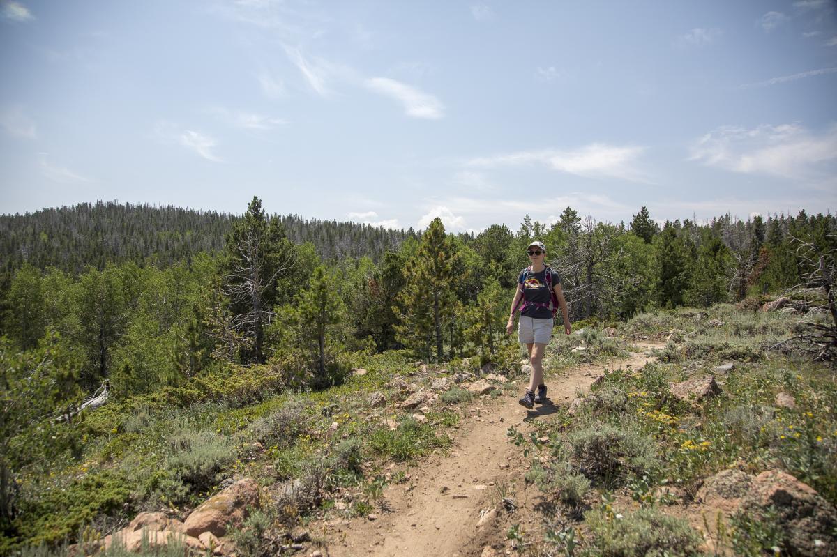 Hiking Happy Jack Recreation Area