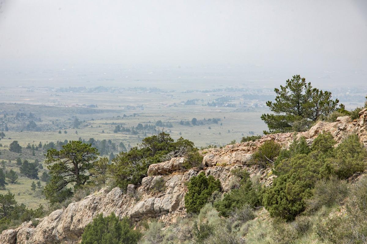 Views over Smoky Valley
