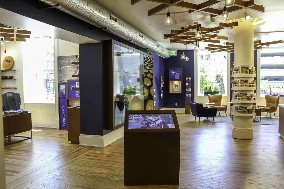 Visitors Center-interior