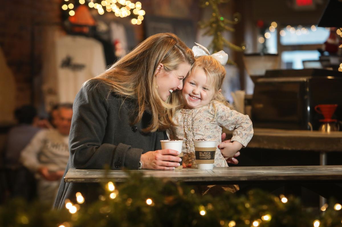 Christmas at Blackbird hot chocolate