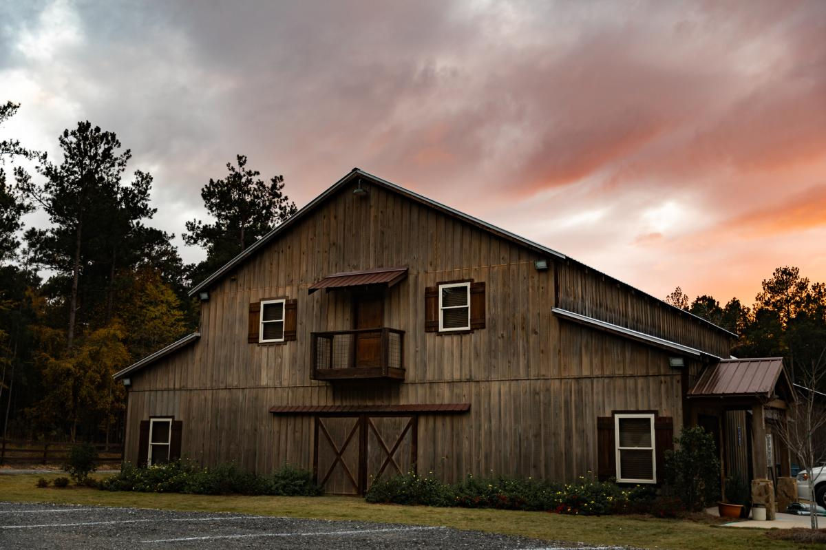 Simply Southern Barn Exterior in Milledgeville, GA