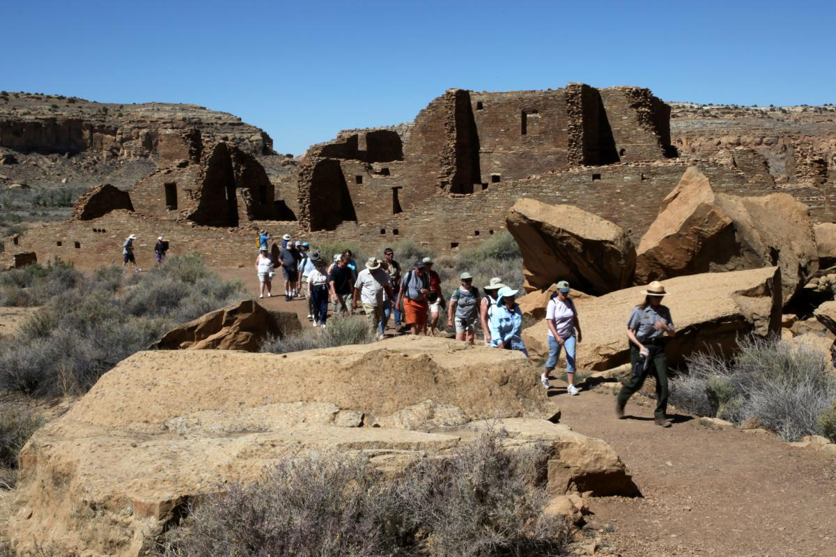 National Heritage site Chaco Canyon