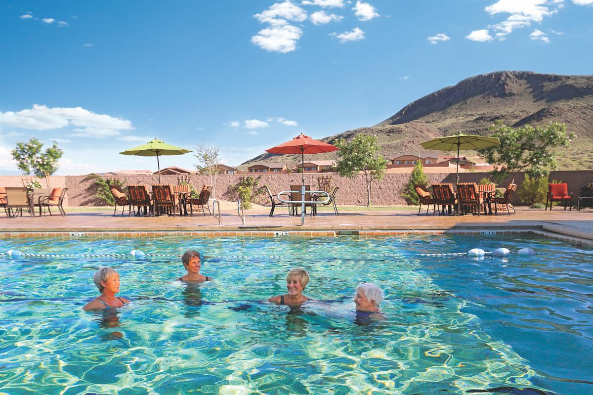 Swimming pool at Jubilee Los Lunas